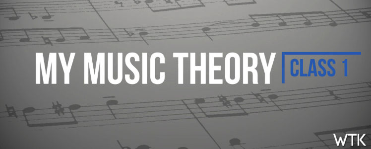 My Music Theory Course 1